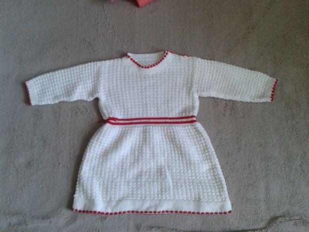 Детское зимнее платья