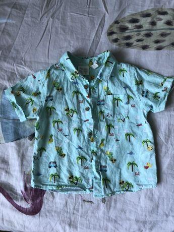 Рубашка на малыша