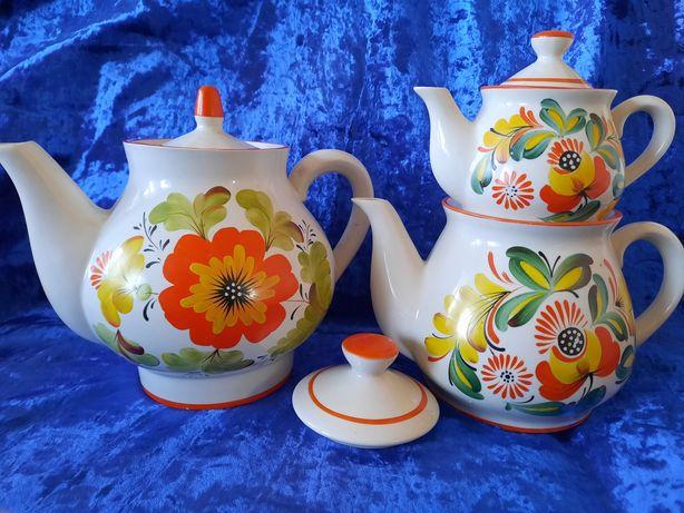 Набор чайников чайный набор заварники фарфор СССР