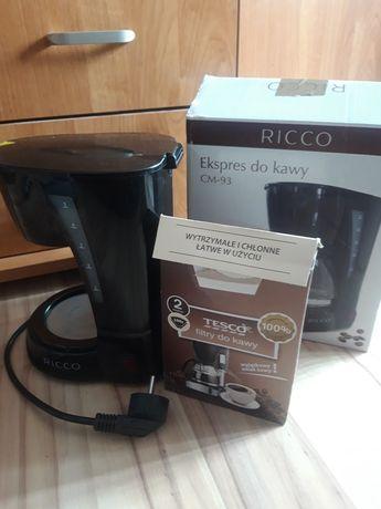 Przelewowy ekspres do kawy RICCO CM-93 - bez dzbanka + filtry gratis