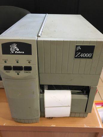 Impressora de etiquetas Zebra Z4000