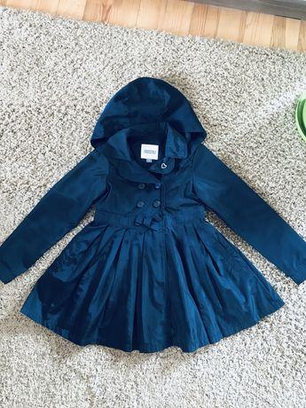 Плащ весенний весеннее куртка пальто школьная форма 128-146 8-11 лет