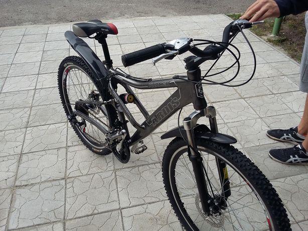 Велосипед в идеальном состоянии.