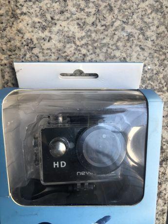 Camara HD Tipo Go Pro Nova Selada c oferta cartão de memória.