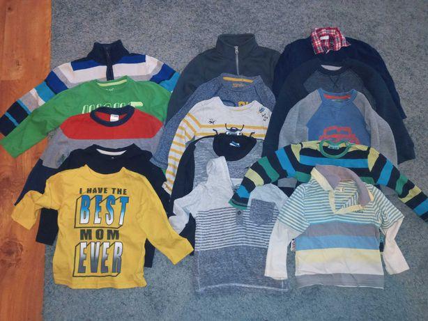 Ubranka dla chłopca 2-3 lat stan dobry .