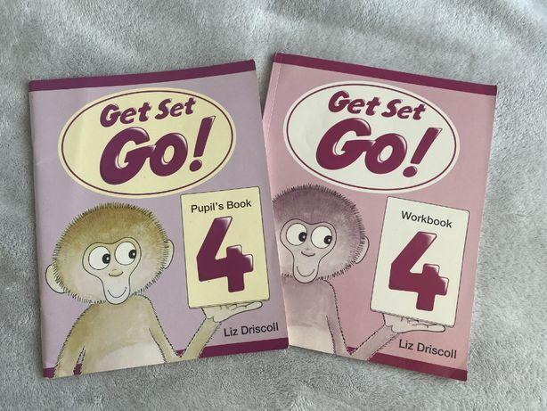 Книга и тетрадь по английскому Get set go 4 pupil's book workbook