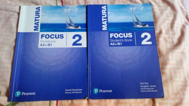 Podręcznik i ćwiczenia j.angielski FOCUS 2 MATURA PEARSON