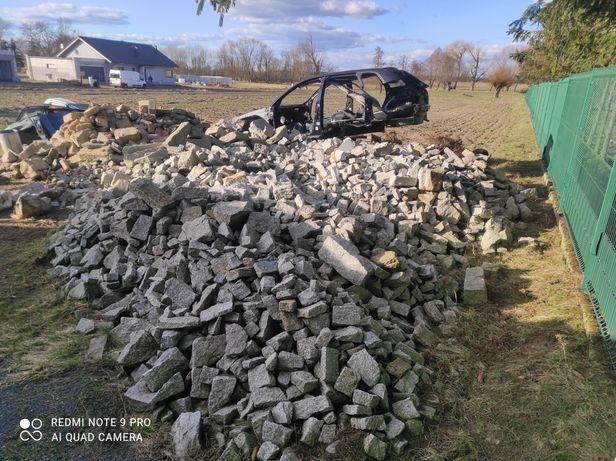 Granit Kamień odpadowy  Kostka