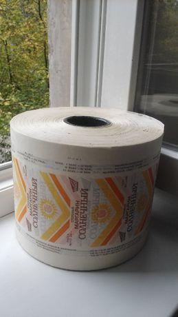Бумага влаго-жиростойкая упаковочная Пергамент. Продукты конфеты мыло.
