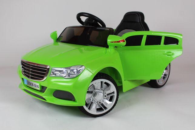 Samochód dla dzieci na akumulator Miękkie koła M12 zielony