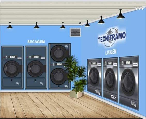 Criamos o seu Négócio Lavandaria Self-Service lavandaria