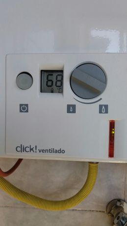 Vendo esquentador marca VULCANO CLIK Inteligente Ventilado 11L