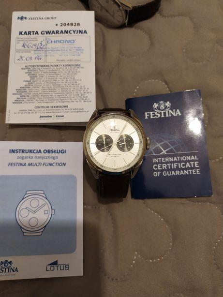 Zegarek Męski Festina F16629 klasyczny sportowy