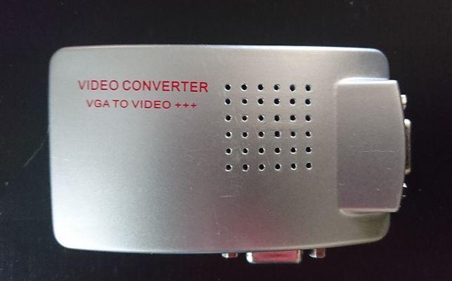 konwerter VGA/ video SVHS