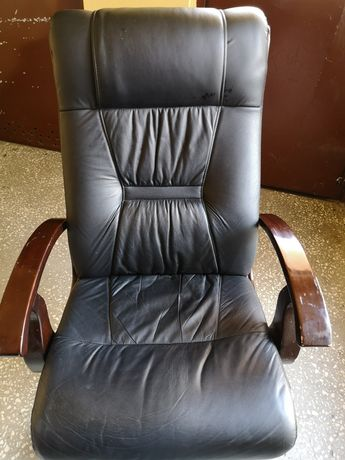 Fotel  skórzany wygodny