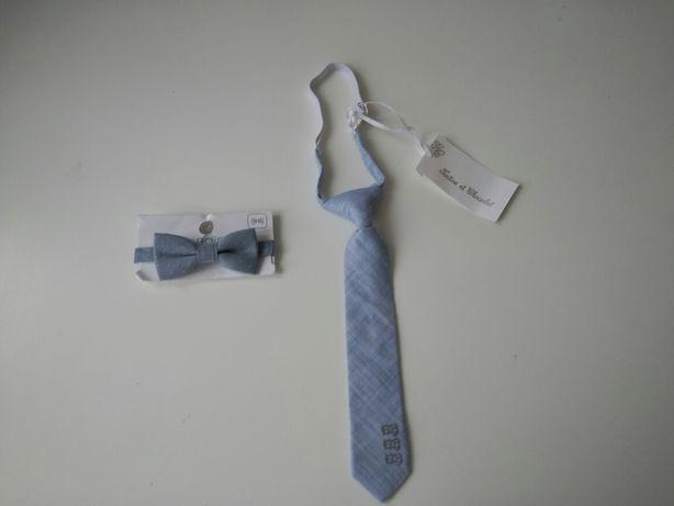 Obaibi Франция бабочка и галстук новые с бирками