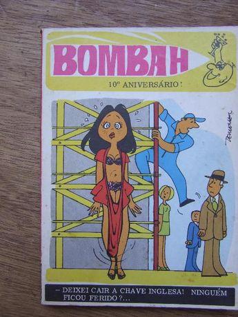 """livro humorístico """"bombah"""" - anos 60"""
