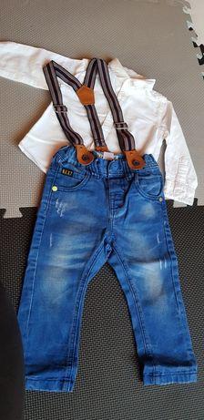 Spodnie next 12mcy