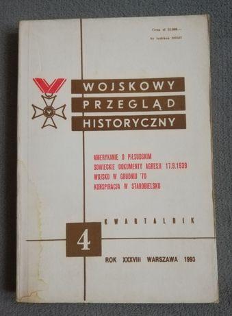 Wojskowy Przegląd Historyczny, kwartalnik 4, 1993