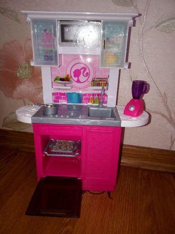 Мебель для кукол Barbie, Mattel, кухня, кровать, холодильник.Оригинал.