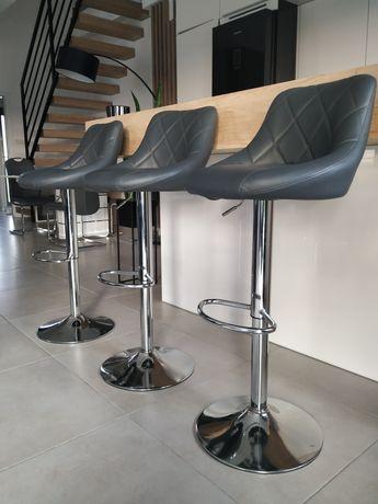Hokery krzesło barowe - zestaw 3 sztuki
