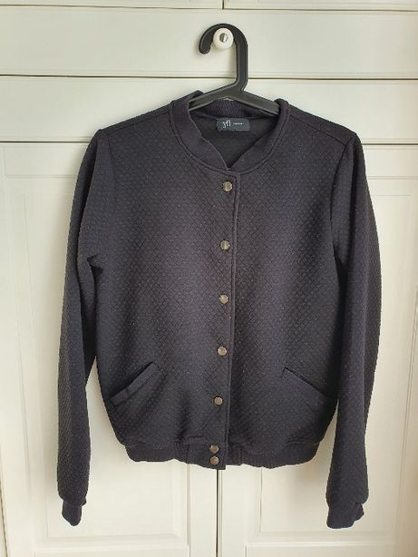 Reserved YFL pikowana bluza czarna L 40