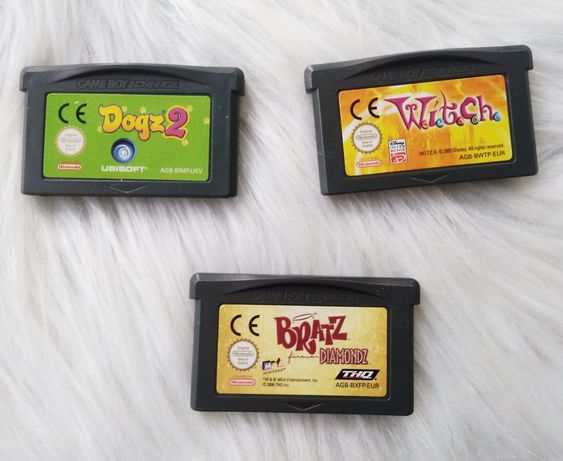 Gry Gameboy Advance Dogz 2 Witch Bratz Nintendo