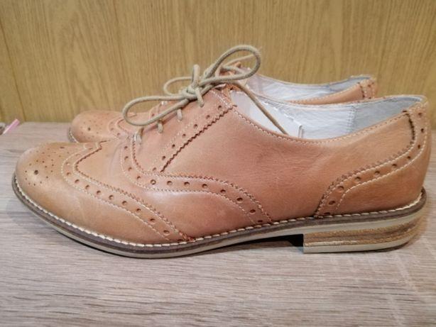 Продам кожаные туфли, лоферы, оксфорды, броги почти новые!