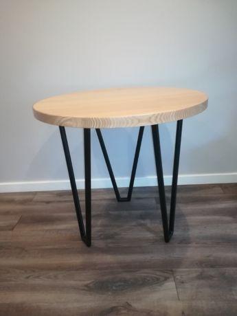 Noga, podstawa do stołu i stolika z metalowej rury