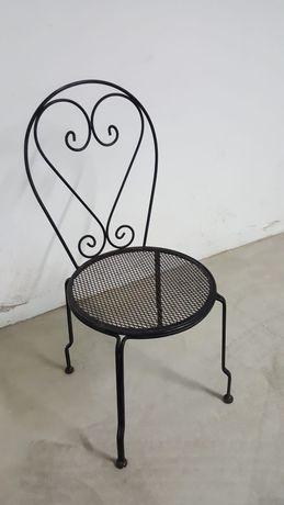 Cadeiras de ferro de jardim