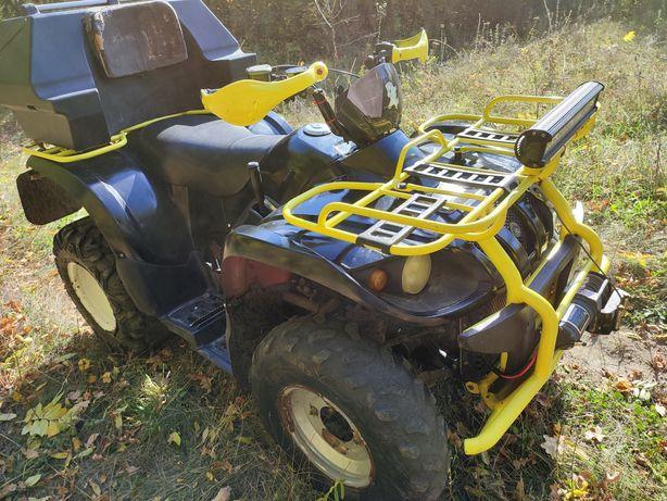 Kazuma jaguar 500 куб утилитарный квадроцикл