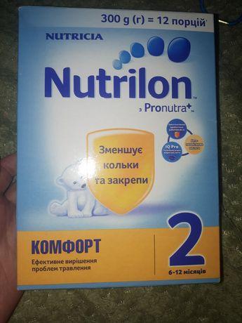 Дитяче харчування, суха суміш Nutrilon Premium + і Pronutra +