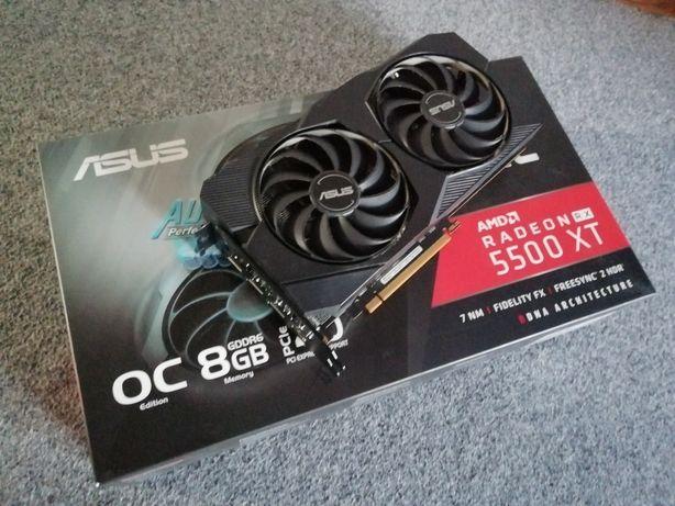 Radeon 5500 XT 8Gb OC Asus Garantia