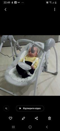 Продаємо крісло-шезлонг для малюків + подарунки