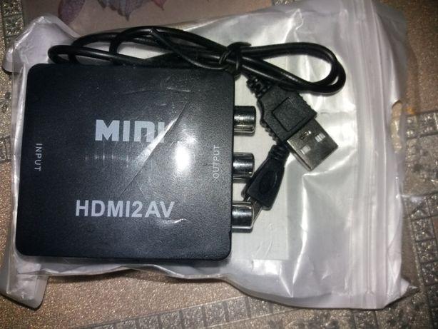 Продам адаптер HDMI перетворювач сигналу.