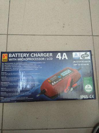 Carregador de bateria 6/12v