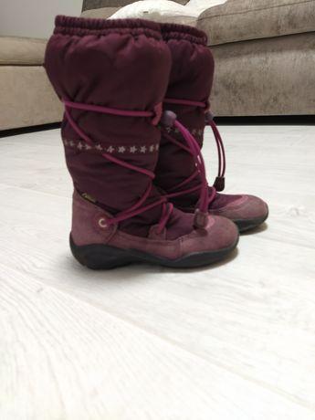 Ботинки сапоги Ecco Gore-tex на девочку