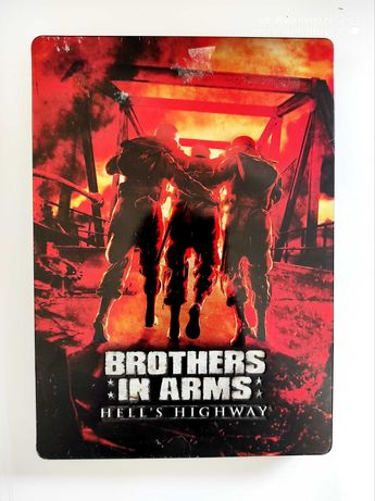 Brothers in arms hell's highway Xbox 360 steelbook