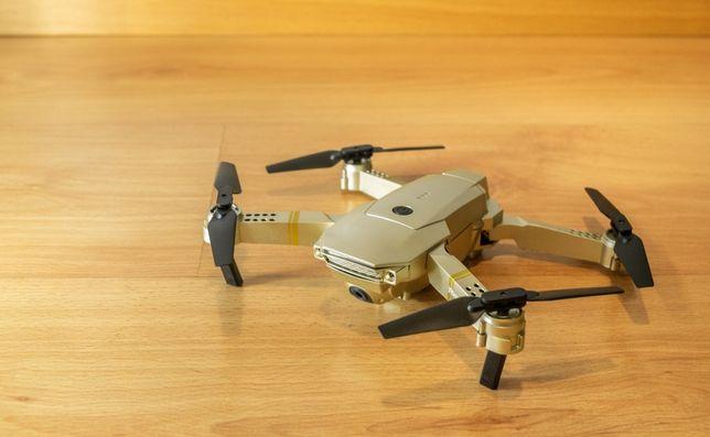 Drone E58 Gold 4K FPV [c/ mala transporte + extras] (novo)