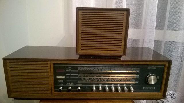 radio grundig zabytek