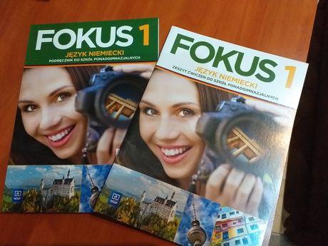FOKUS 1 podręcznik + ćwiczenia NOWE WSiP