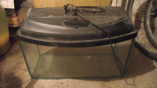 Akwarium 60l + narożniki do akwarium GRATIS