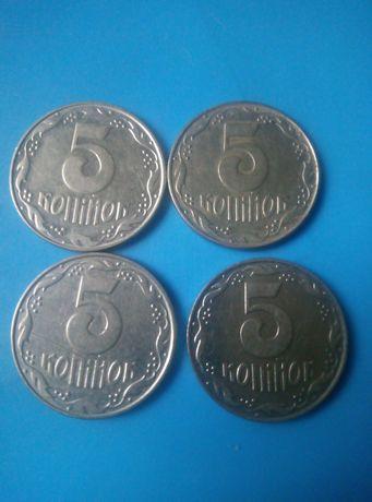 Продам монеты 92года.