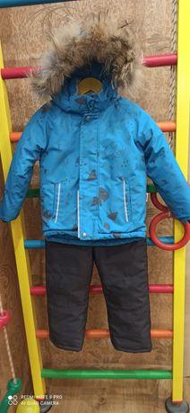 Зимний костюм для мальчика.