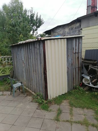 Garaz blaszak 3 m szeroki na 4 m długi
