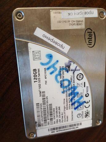 SSD Intel 120GB  отличное состояние