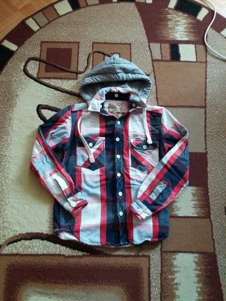 Bluza,koszula dla chłopca w kratkę,rozmiar 164