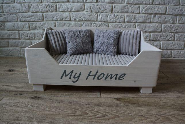 Luksusowe Legowiska dla psa/kota, drewniane łóżeczko handmade, materac