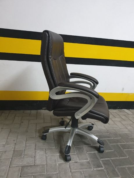 Fotel do biura biurka eko skóra