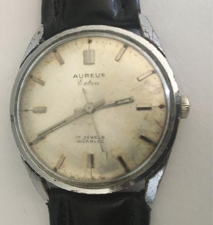 Relógio mecânico antigo, AUREUS  EXTRA